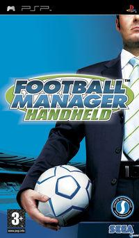 Portada oficial de Football Manager 2006 para PSP
