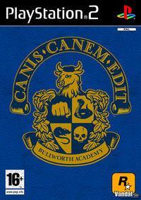 Portada oficial de Canis Canem Edit para PS2