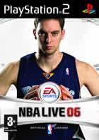 Portada oficial de de NBA Live 2006 para PS2
