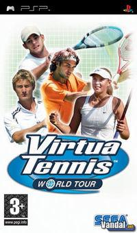 Portada oficial de Virtua Tennis World Tour para PSP