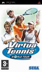 Portada oficial de de Virtua Tennis World Tour para PSP