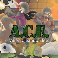 Portada oficial de A.C.E. – Alien Cleanup Elite  eShop para Wii U
