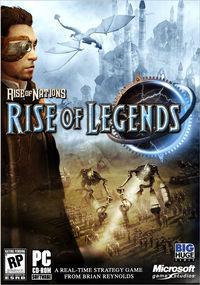 Portada oficial de Rise of Legends para PC