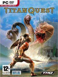 Portada oficial de Titan Quest para PC