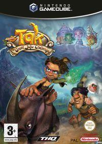 Portada oficial de Tak: The Great Juju Challenge para GameCube