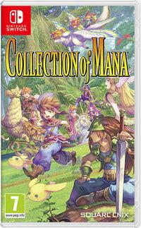 Portada oficial de Collection of Mana para Switch
