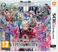 Portada oficial de Radiant Historia Perfect Chronology para Nintendo 3DS