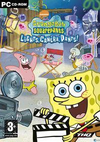 Portada oficial de SpongeBob SquarePants: Lights, Camera, PANTS! para PC