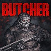 Portada oficial de BUTCHER para PS4