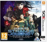 Portada oficial de Shin Megami Tensei: Strange Journey Redux para Nintendo 3DS