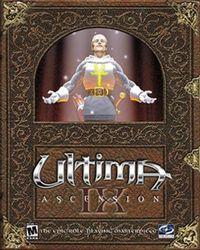 Portada oficial de Ultima IX para PC
