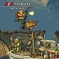 Portada oficial de NeoGeo Metal Slug para Switch
