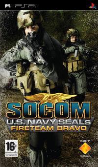 Portada oficial de SOCOM: U.S. Navy Seals Fireteam Bravo para PSP