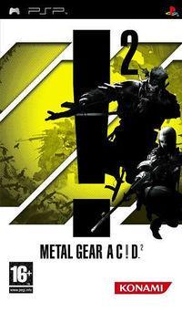 Portada oficial de Metal Gear Acid 2 para PSP