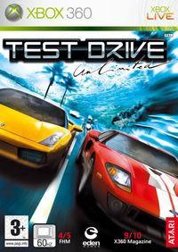 Portada oficial de Test Drive Unlimited para Xbox 360