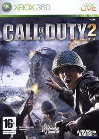 Portada oficial de Call of Duty 2 para Xbox 360