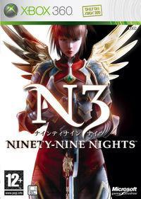 Portada oficial de Ninety-Nine Nights para Xbox 360