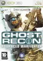 Portada oficial de de Tom Clancy's Ghost Recon Advanced Warfighter para Xbox 360