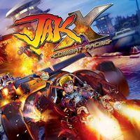 Portada oficial de Jak X: Combat Racing para PS4