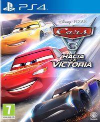 Portada oficial de Cars 3: Hacia la victoria para PS4