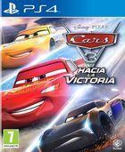 Portada oficial de de Cars 3: Hacia la victoria para PS4