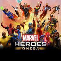 Portada oficial de Marvel Heroes Omega para PS4