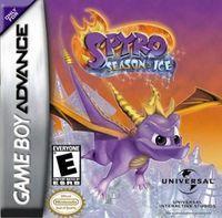Portada oficial de Spyro: Season of Ice para Game Boy Advance