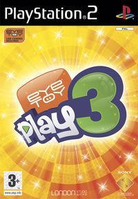 Portada oficial de Eye Toy 3 para PS2