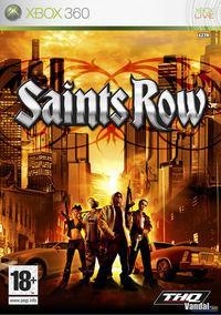 Portada oficial de Saints Row para Xbox 360
