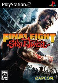 Portada oficial de Final Fight Streetwise para PS2