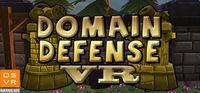 Portada oficial de Domain Defense VR para PC