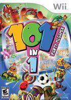 Portada oficial de de 101 in 1 Party Megamix para Wii