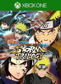 Portada oficial de Naruto: Ultimate Ninja Storm Trilogy para Xbox One