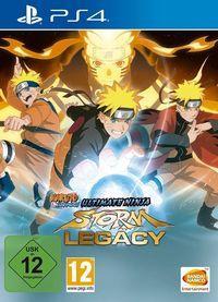 Portada oficial de Naruto Shippuden: Ultimate Ninja Storm Legacy para PS4
