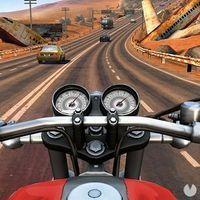 Portada oficial de Moto Rider GO: Highway Traffic para Android