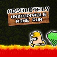 Portada oficial de Absolutely Unstoppable MineRun eShop para Wii U