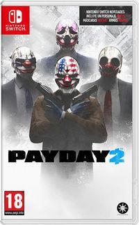 Portada oficial de PayDay 2 para Switch