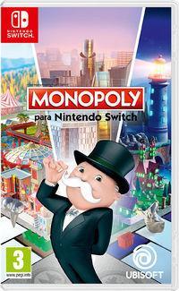 Portada oficial de Monopoly para Switch