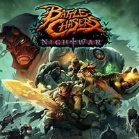 Portada oficial de Battle Chasers: Nightwar para Switch
