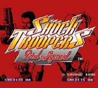 Portada oficial de NeoGeo Shock Troopers: 2nd Squad para Switch