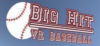 Portada oficial de Big Hit VR Baseball para PC
