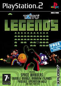 Portada oficial de Taito Legends para PS2