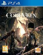 Portada oficial de de Code Vein para PS4