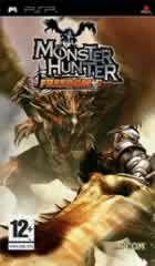 Portada oficial de de Monster Hunter Freedom para PSP
