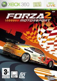 Portada oficial de Forza Motorsport 2 para Xbox 360