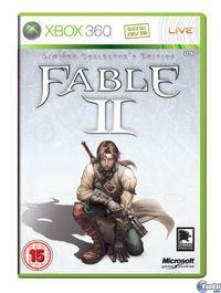 Portada oficial de Fable 2 para Xbox 360