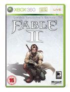 Portada oficial de de Fable 2 para Xbox 360