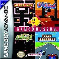 Portada oficial de Namco Museum Advance para Game Boy Advance
