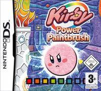 Portada oficial de Kirby: El Pincel del poder para NDS