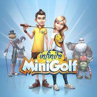 Portada oficial de Infinite Minigolf para PS4